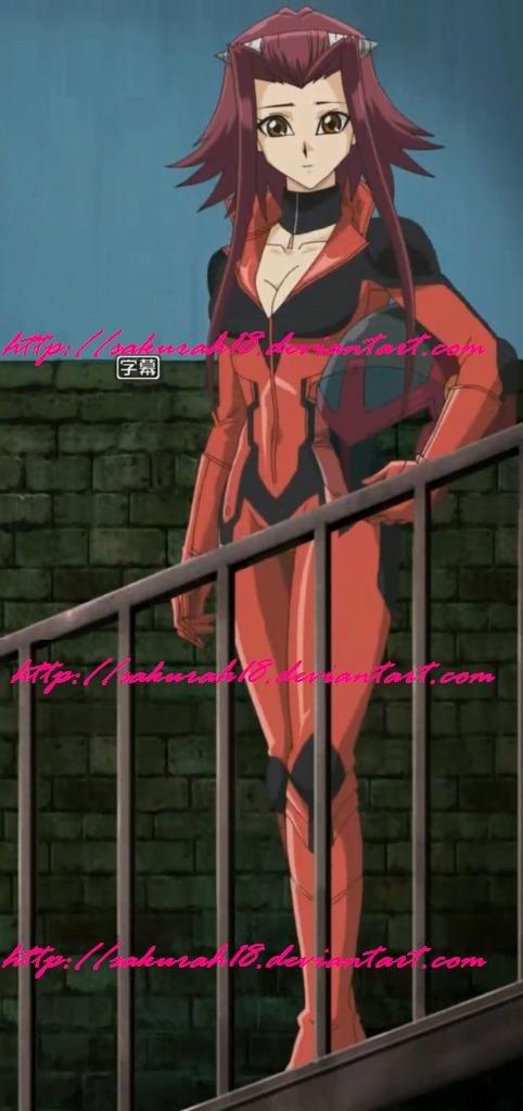 Akiza Biker Suit by SakuraH18