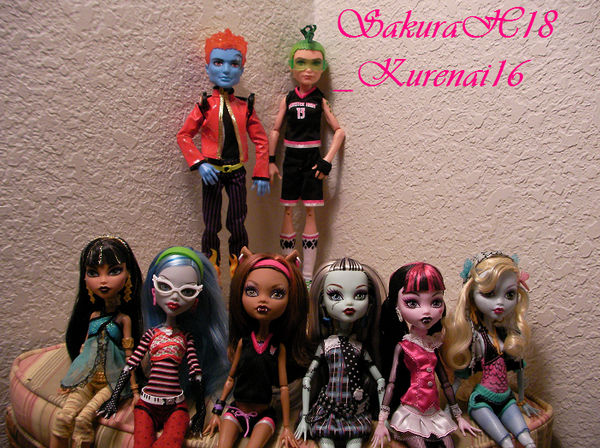 Monster High Wave 1 Complete