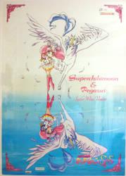 Sailor Moon- Super Sailor Chibimoon and Pegasus