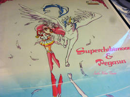 Super Sailor Chibimoon and Pegasus2 Poster