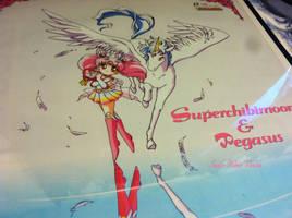 Super Sailor Chibimoon and Pegasus2 Poster