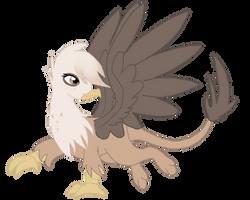 My Little Griffin by SpiderRen