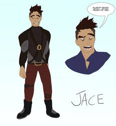 Jace Redesgin by SpiderRen