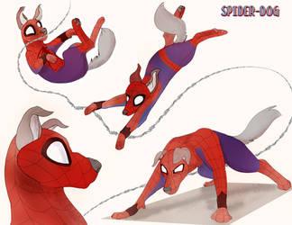 Spider-Dog by SpiderRen