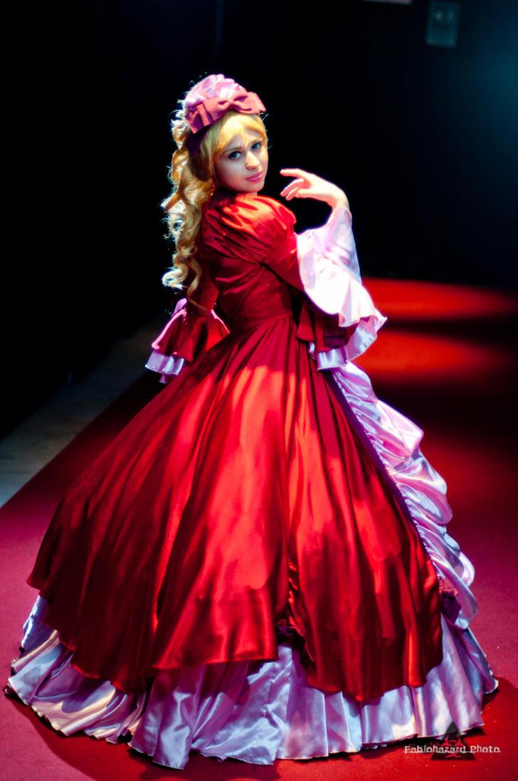 Marie Antoinette beauty dress by ely707