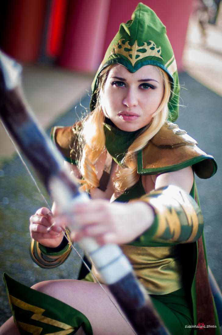 Sherwood forest Ashe - League of legends cosplay by ely707 ...