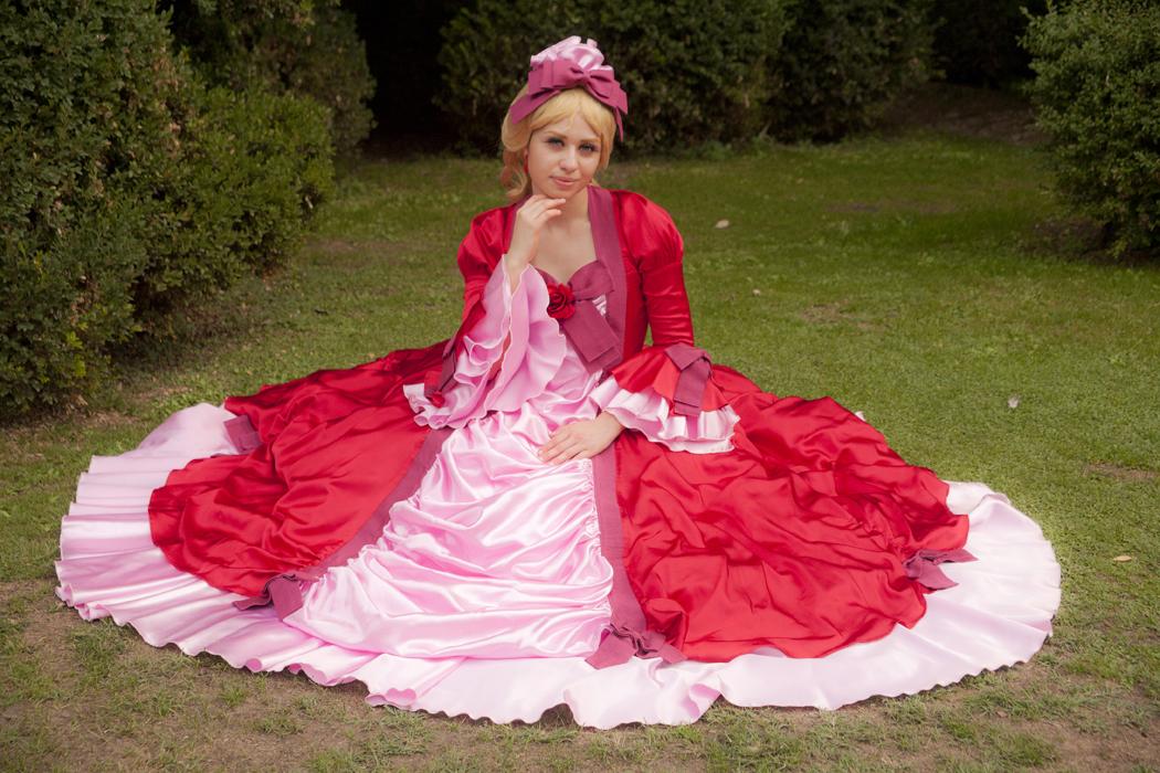 Marie Antoinette - Versailles no bara cosplay by ely707