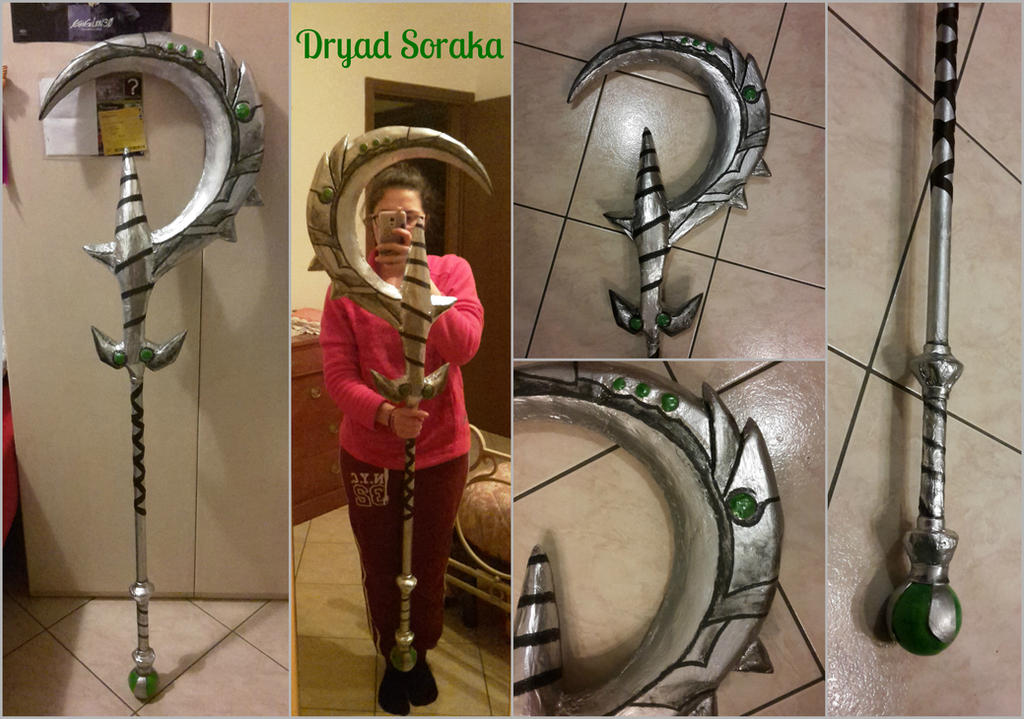 Dryad Soraka scepter cosplay league of legends by ely707