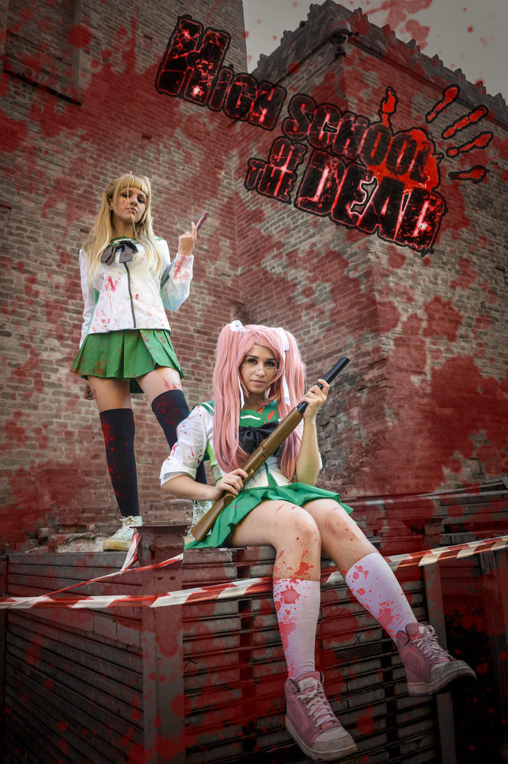 Say and Rei- Highschool of the dead HOTD cosplay by ely707