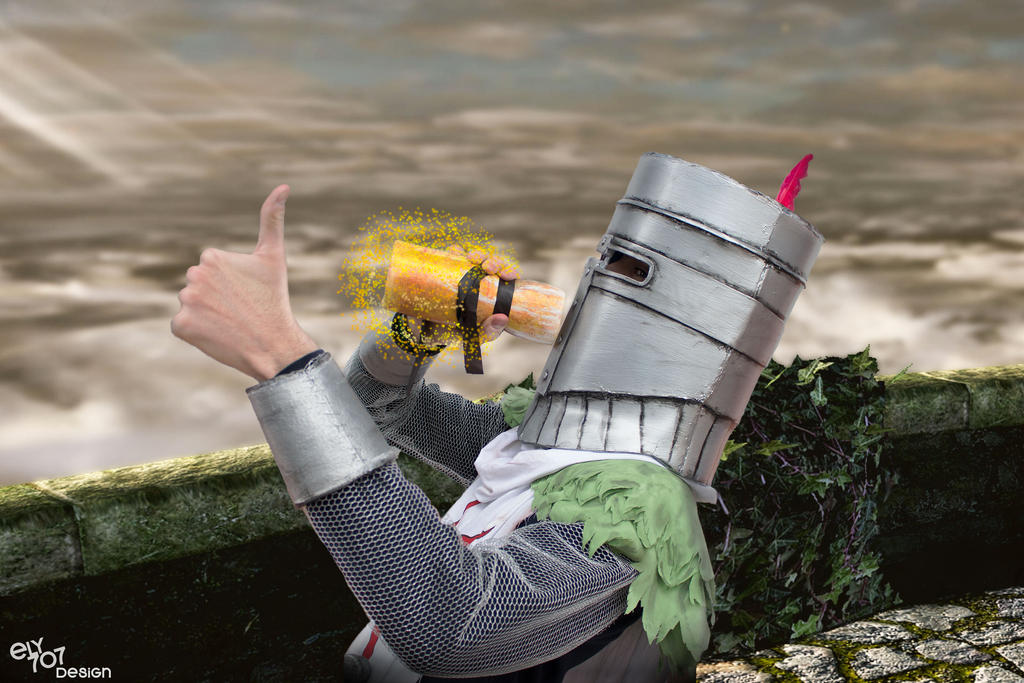 Solaire of Astora Dark Souls | Cosplay Estus by ely707