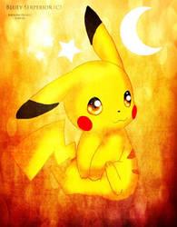 Pikachu by BlueySerperiorNeo