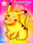 Pikachu Plusle by BlueySerperiorNeo