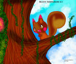 Tiny Plusle in the trees by BlueySerperiorNeo