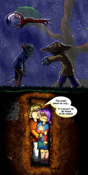 Terraria: Hole in the ground