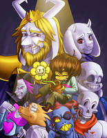 Undertale: how was the fall? by CitrusRain