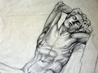 Sleeping Faune by Whiteling