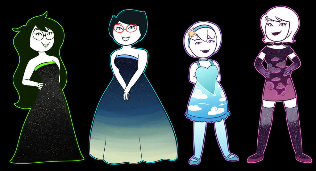 Dresses by Rainbow112