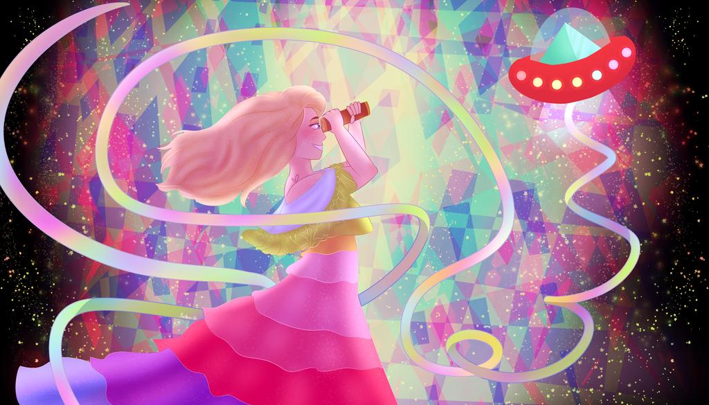 Rainbow Ke$ha by ElectricRainbowSkull