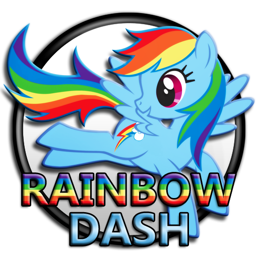 My Little Pony - Rainbow Dash C1 by dj-fahr