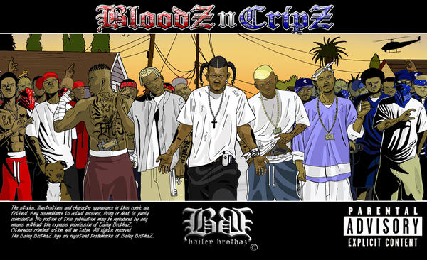 Tha killaz by baileybrothaz on deviantart - Blood gang cartoon ...