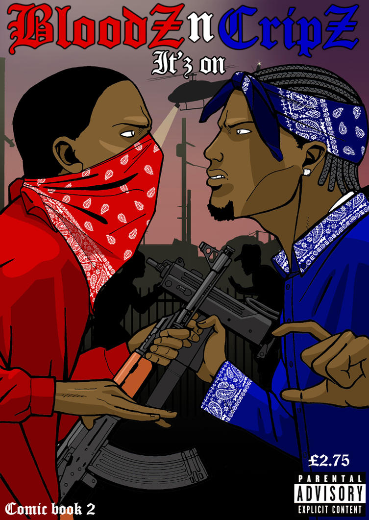 Bloodz n cripz itz on by baileybrothaz on deviantart - Blood gang cartoon ...