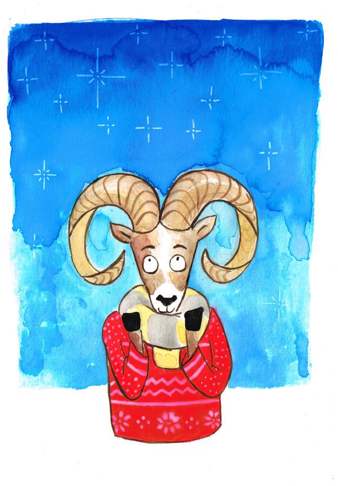 Bighorn Sheep by huguett