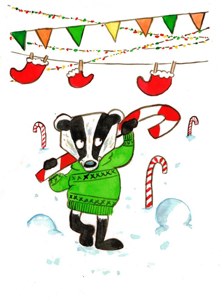 Badger by huguett