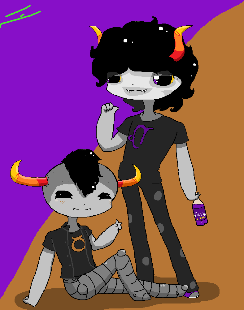 44hhh.om_Gamzee And Tavros (gift) by Ghosty-galaxy on DeviantArt