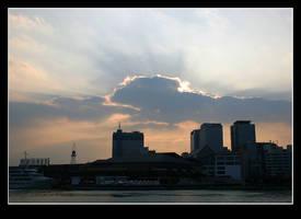 Harbourland Sky by stevezpj