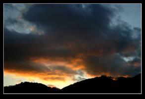 Burning cloud 01 by stevezpj