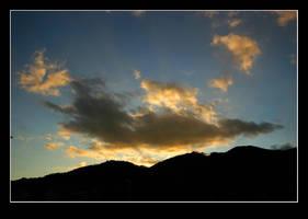 Night approaches Yamasaki by stevezpj