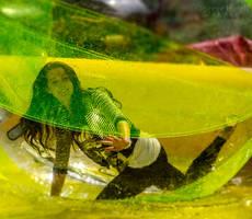 Girl in a Bubble by stevezpj