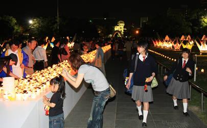 Peace Candles by stevezpj