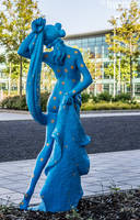 Blue Lady 02 by stevezpj