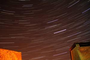 Winter Star Streaks by stevezpj