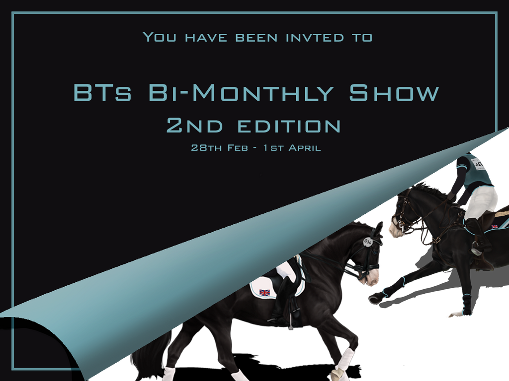 Invite - BTs - Bi Monthly show 2nd edition by Lone-Onyx-Stardust