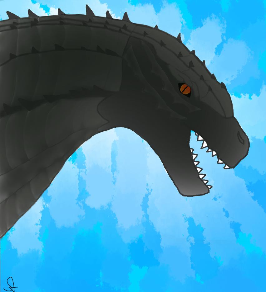Godzilla by starrawesome123