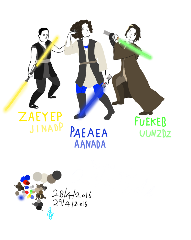 Jedi Gamegrumps by starrawesome123