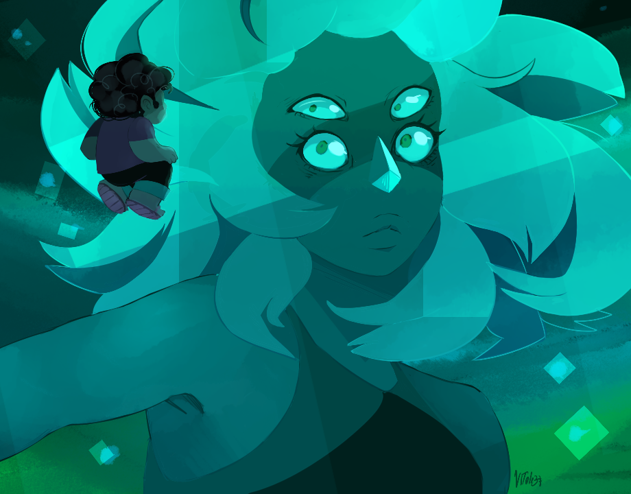 """we're malachite now!"" n0rara.tumblr.com/post/1219680…"