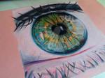 Coloured Eye DRAWING