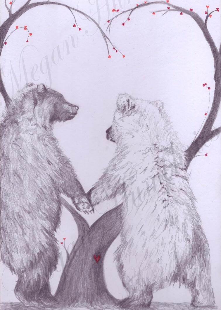 Bears in Love by stardust12345