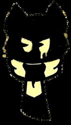 Angry Retro Splat Icon