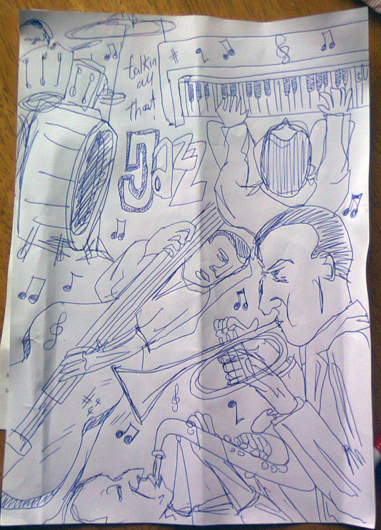 Talkin all that Jazz sketch by giuanne