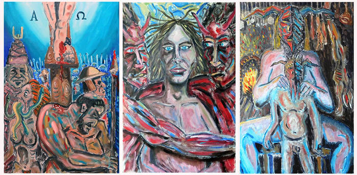 The Traitors, Whores and Liars Triptych