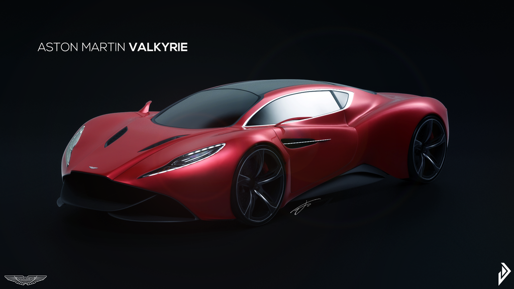 Aston Martin Valkyrie Concept By Vanaticalfoxes On Deviantart