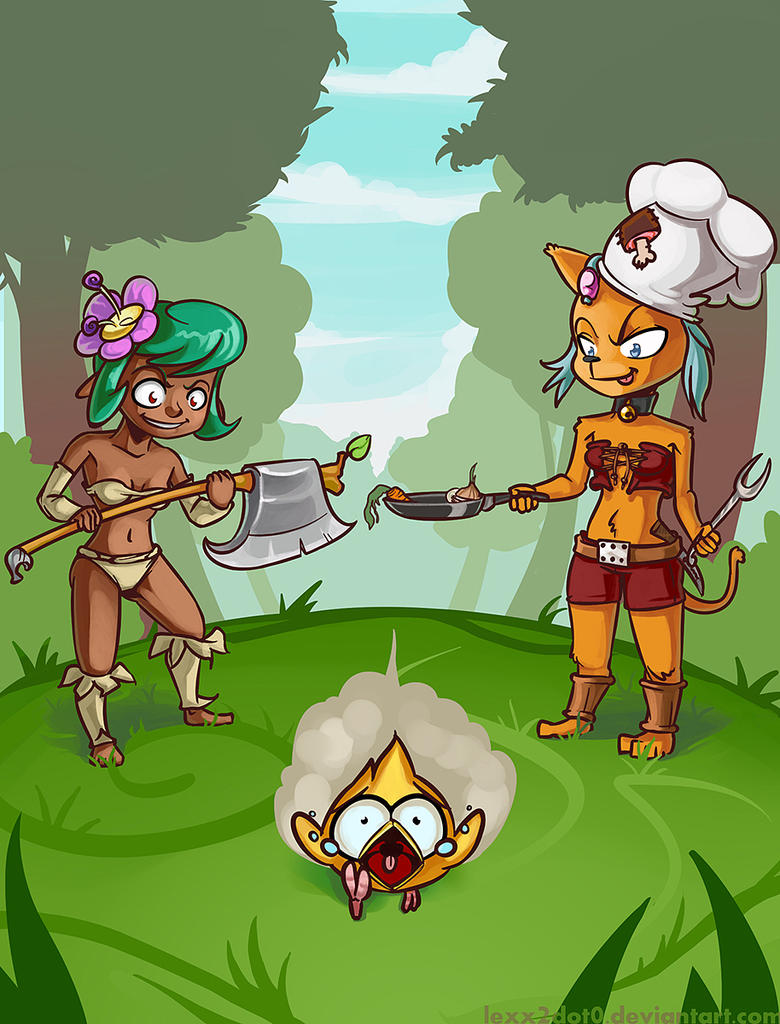 Hunters and tofu by lexx2dot0