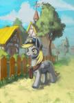 rural postman by lexx2dot0