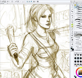 Work in Progress - Lara Croft
