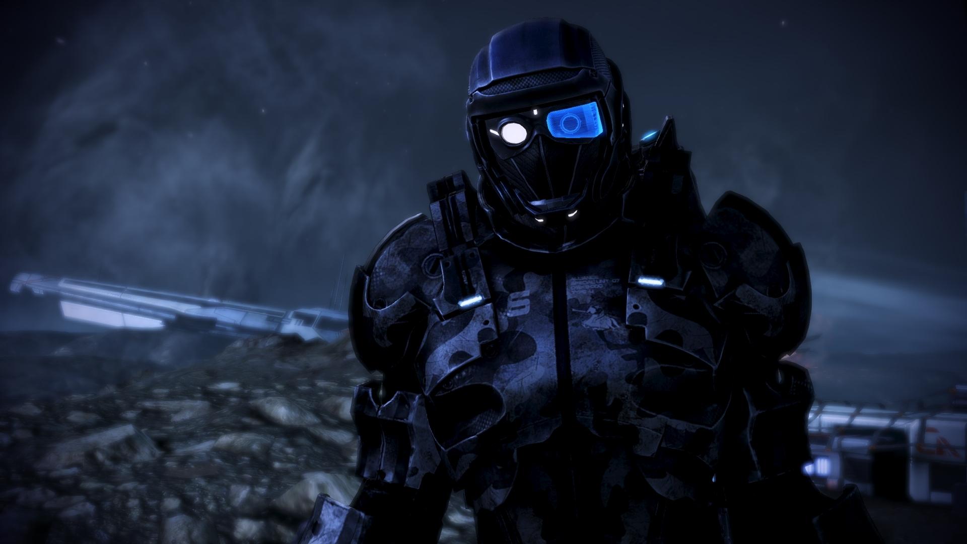ME3 - Showcase - N7 Defender Re-Texture 005 by CorePhantom