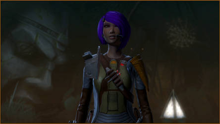 SWTOR - Eda - On Yavin (4) by CorePhantom